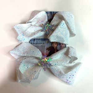 Frozen 2 Large Hair Bows Lot of 2 New